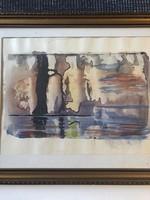 Korniss Dezső (1908 - 1984) Zseniális Akvarell