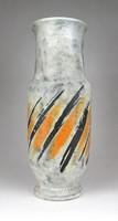 0Y818 Régi Gorka Lívia kerámia váza 31.5 cm