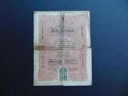 2 forint 1848 Kossuth bankó  KÉREM ELOLVASNI A LEÍRÁST !