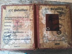 SS Birodalmi Szolgálati könyv  OLVASS