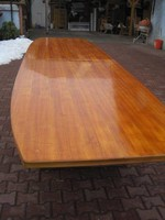Nagy  étkező ,tárgyaló asztal vendéglappal 5-8 m