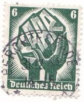 Német birodalom emlékbélyeg 1924