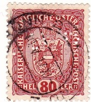 Ausztria forgalmi bélyeg 1916