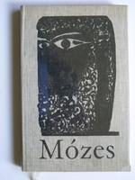 MÓZES, MADÁCH IMRE, KASS JÁNOS 1966  KÖNYV KIVÁLÓ ÁLLAPOTBAN