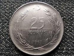Törökország 25 kurus 1968 (id37569)