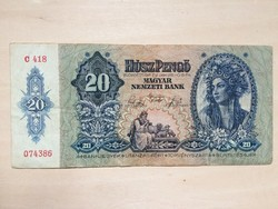 Húsz Pengő 1941