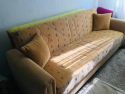 Olasz Aldora kanapé, ággyá alakítható, ágyneműtartóval