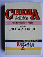 CINEMA A CRITICAL DICTIONARY VOLUME TWO 1980 RICHARD ROUD KÖNYV JÓ ÁLLAPOTBAN