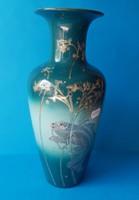 Zsolnay váza, aranyhalas