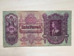 Száz Pengő 1930