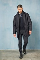 Gyönyörű Sartoria Di Filottrano olasz kabát