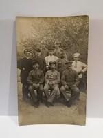 Katonák csoportkép 1917