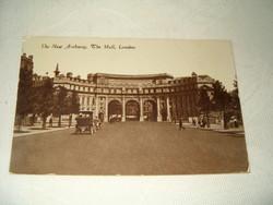 1923 régi képeslap London the new Archway the Mall London pecsételt futott KIÁRUSÍTÁS 1 ft