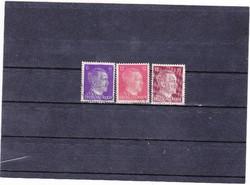 Német birodalom forgalmi bélyegek 1941