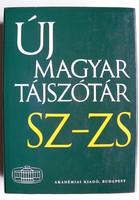 ÚJ MAGYAR TÁJSZÓTÁR 5. (SZ-ZS) 2010  KÖNYV KIVÁLÓ ÁLLAPOTBAN