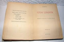 Dante Isteni színjáték-Babits Mihály fordítása 1943