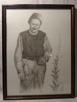 Szilárgyi János - Munkásportré 1992