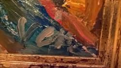 Vén Emil olaj-fa festmény, Sikátor, 315 ezer Ft
