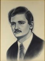 1C102 Alekszander Gembik : Férfi portré 1992