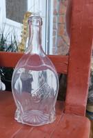 Hangya üveg, nosztalgia darab, paraszti dekoráció