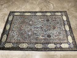 100% Qum selyem perzsaszőnyeg 210x140