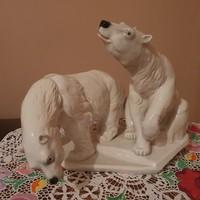 ENS porcelán jegesmedve