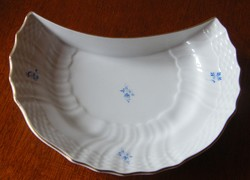 Herendi kék virágos csontos tányér!