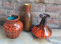Retro vázák, váza, egyben eladók ,nosztalgia darabok falusi paraszti dekoráció