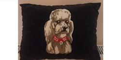 Uszkár kutya párna 45 x 33 cm