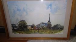 R Baeyens akvarell