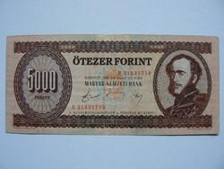 SZÉCHENYI 5000 FORINT 1990 H SOROZAT