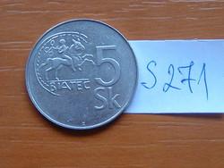 SZLOVÁKIA 5 KORONA 1995 S271