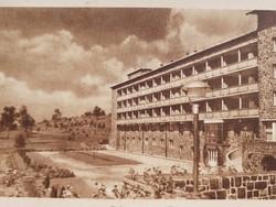 Régi képeslap 1951 Galya nagyszálló Galyatető