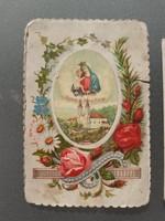 Rég mini szentkép Radnai sz. Mária 2 db