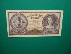 1 milliárd  pengő 1946 Extraszép!