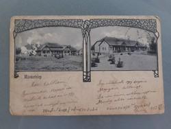 Régi képeslap 1903 Művésztelep