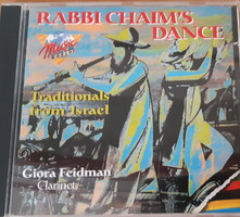 GIORA FEIDMAN :  RABBI CHAIM'S DANCE - KLEZMER   CD - JUDAIKA