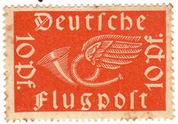 Német birodalom légiposta bélyeg 1919