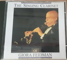 GIORA FEIDMAN : THE SINGING CLARINET -  ZSIDÓ ZENE  -  CD - JUDAIKA