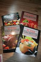 KÖNYV 4 db Dr Oetker szakácskönyvtár csomagban, újszerű állapotban.