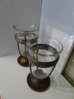 Szandrik antik szőlőmosó üveg.