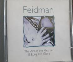 FFEIDMAN PLAYING KLEZMER BY ISSACHAR MIRON  -  ZSIDÓ ZENE  - CD  - JUDAIKA