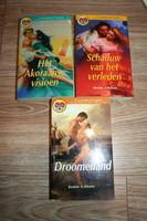 KÖNYV 3 db holland nyelvű romantikus regény Josie Litton könyvei Droomeiiland újszerű állapotban
