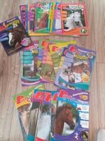 ÚJSÁG Pony Klub Magazin Póni klub gyűjtemény újság csomag 2007 2008 2009 2010 lovas gyerek