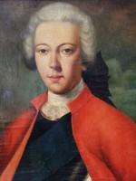 Ismeretlen festő: 18. sz.végi férfi portré  olaj, vászon festmény, 63 x 57 cm
