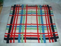 Vintaage LANVIN valódi silk selyemkendő