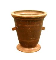 Antik bronz mozsár.