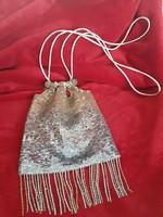 Alkalmi, ezüst, arany flitteres színházi táska