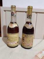 Tokaji aszú 3 puttonyos, 1975 és 1979 évjárat.