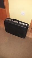 Retró utazó bőrönd...NDK-ból